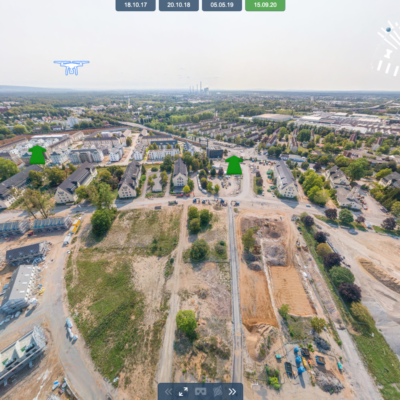Neuer virtueller Rundgang durch den Pioneer Park
