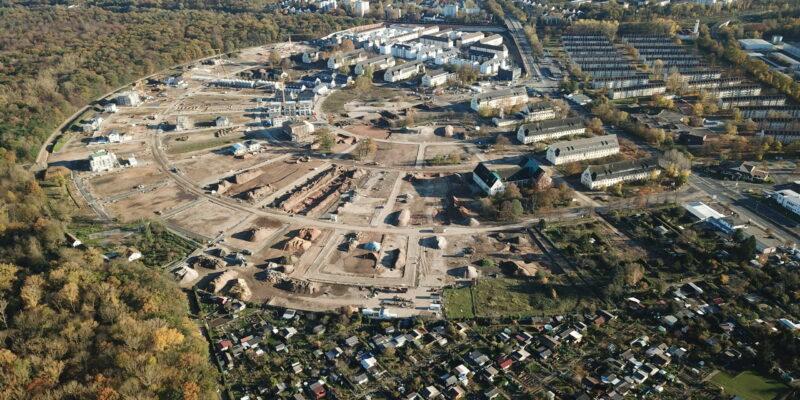 Corona – Auswirkungen auf die Baustelle Pioneer Park